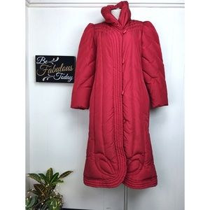 Vintage Jackets & Coats - Vintage 80s Gallery Down Feather Coat